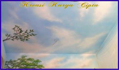 lukisan-awan-di-plafon