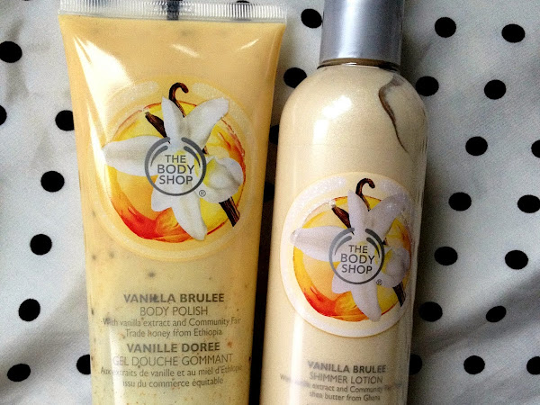 The Body Shop Vanilla Brulee Range