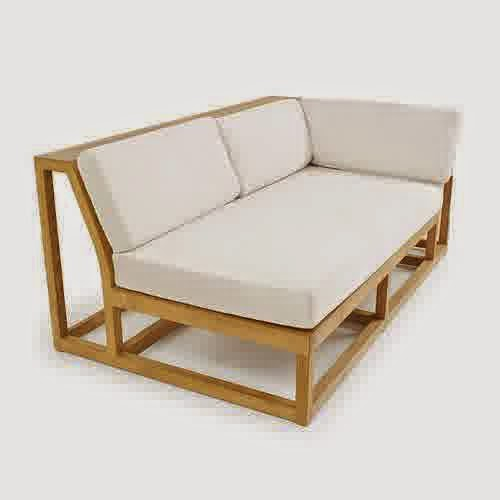 Maya Teak Luxury Furniture Sectional Sofa