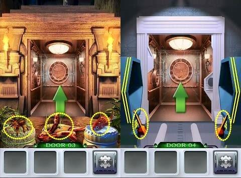 100 Doors 3 Level 1 2 3 4 5 6 7 Walkthrough