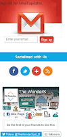 How to add all in one social media subscription widget for blogger