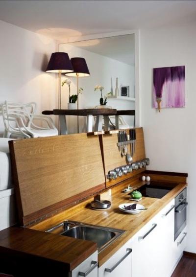 Dapur sekaligus tangga