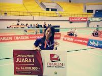 Jawara Badminton Ini Ternyata Istri Prajurit