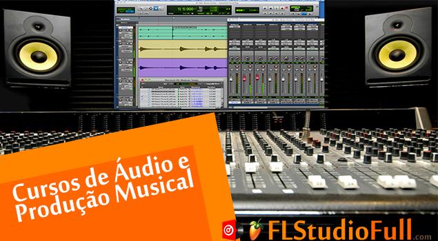 Cursos de Áudio e Produção Musical