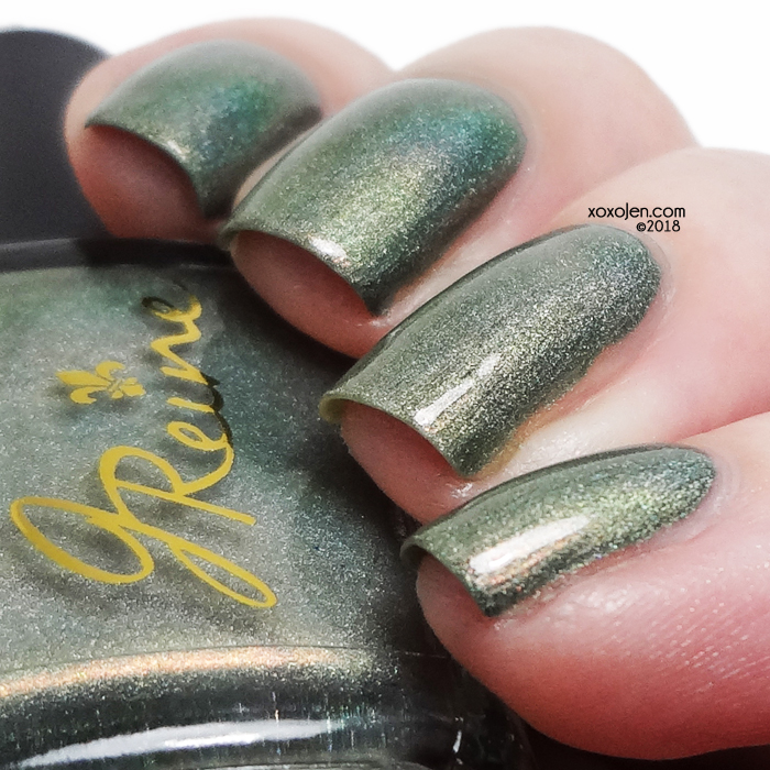 xoxoJen's swatch of JReine Swamp Water