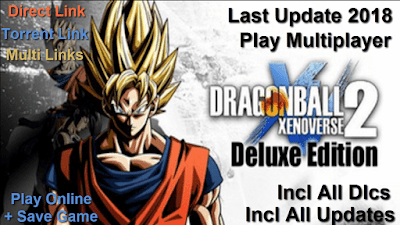 Free Download Game Dragon Ball Xenoverse 2 Deluxe Edition Pc Full Version – Last Update 2018 – Crack Online – Codex Version – Incl All Dlcs – Incl All Updates – Play Multiplayer 2018 – Direct Link – Torrent Link – Multi Links – Install+Tutorial – Working 100% .