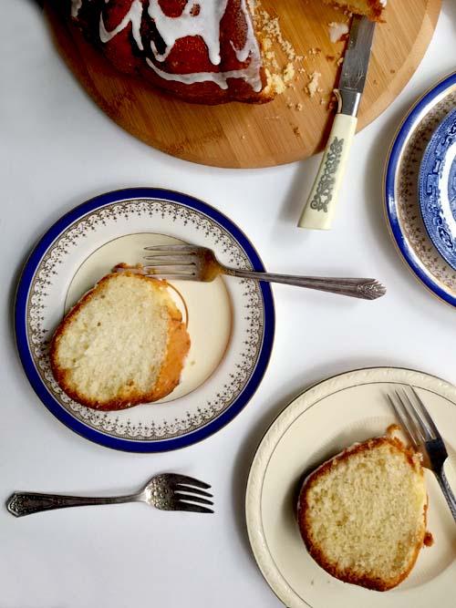 east 62nd street lemon cake de Maida Heatter, la clásica torta de limón