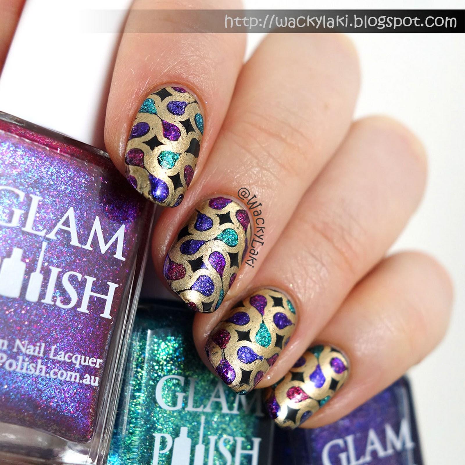 fingers polish mania: Nubs to Nails-A NexGen gel dip story