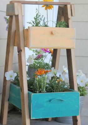 Floreira de gaveta