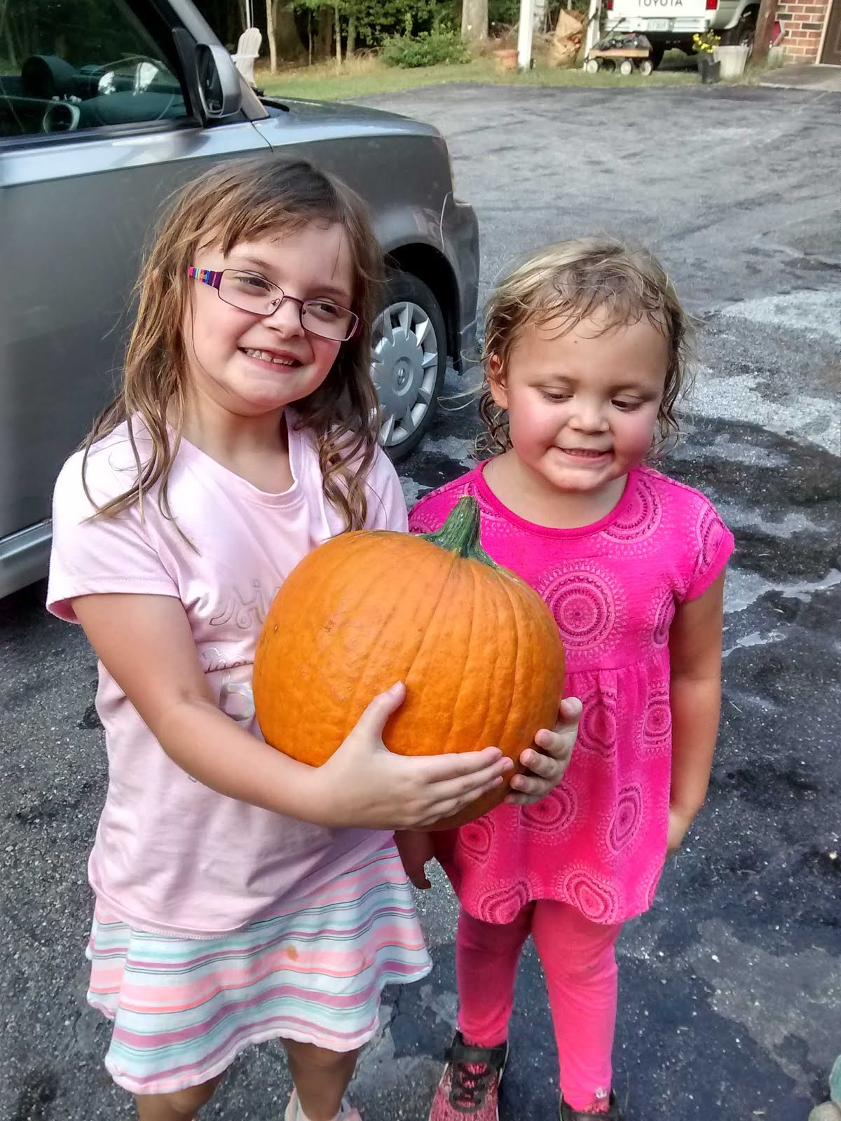 pumpkin girls -  October 2018
