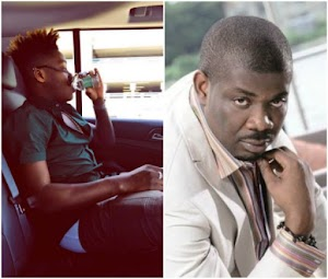 ''You for no just wear jeans o'' - Donjazzy React to Reekado Banks' sagged trousers