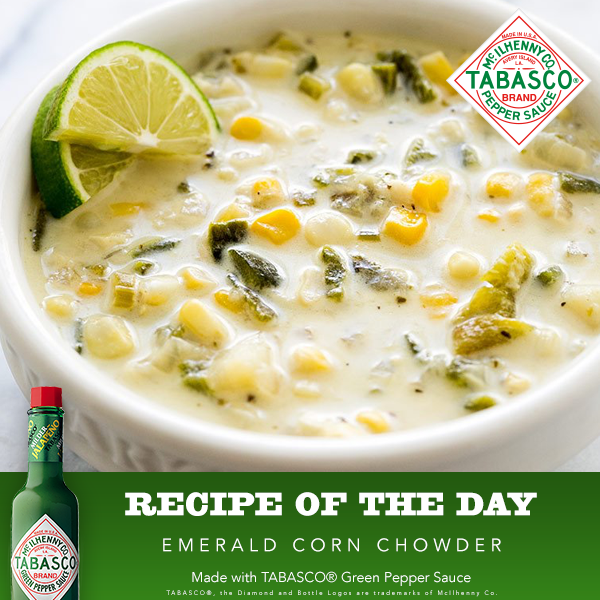 Emerald Corn Chowder Recipe