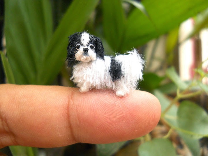 Su Ami miniature crochet animals