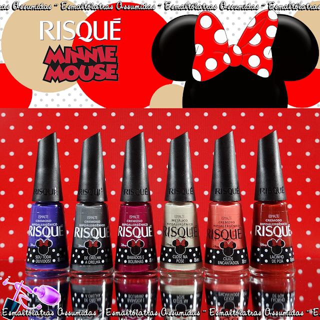 """28f96ae49 A coleção Risqué """"Minnie Mouse"""" homenageia o humor divertido da personagem"""