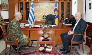 6 εκατ. ευρώ από το ΕΣΠΑ της Περιφέρειας ΑΜ-Θ για την ενίσχυση του στόλου μηχανημάτων έργου του Στρατού