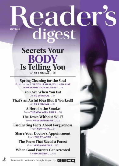 Free Download Readers Digest USA May 2016