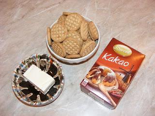 retete ingrediente blat de biscuiti cu unt si cacao pentru prajitura lasagna de ciocolata,