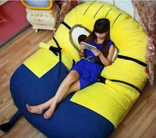 Fabulous How To Teach Minion Chair Bed Like A Pro Roole Caraccident5 Cool Chair Designs And Ideas Caraccident5Info