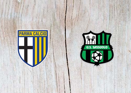 Parma vs Sassuolo - Highlights 25 November 2018