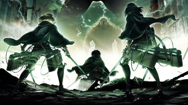 Shingeki no Kyojin masuk dalam deretan anime adventure terbaik