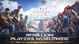 تنزيل لعبة rules of survival لعبة اكشن جماعية للاندرويد