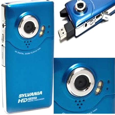 shopping 10 best consumer digital video cameras camara digital sylvania hd1z high definition. Black Bedroom Furniture Sets. Home Design Ideas