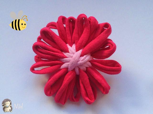 Flor de Trapillo con Telar