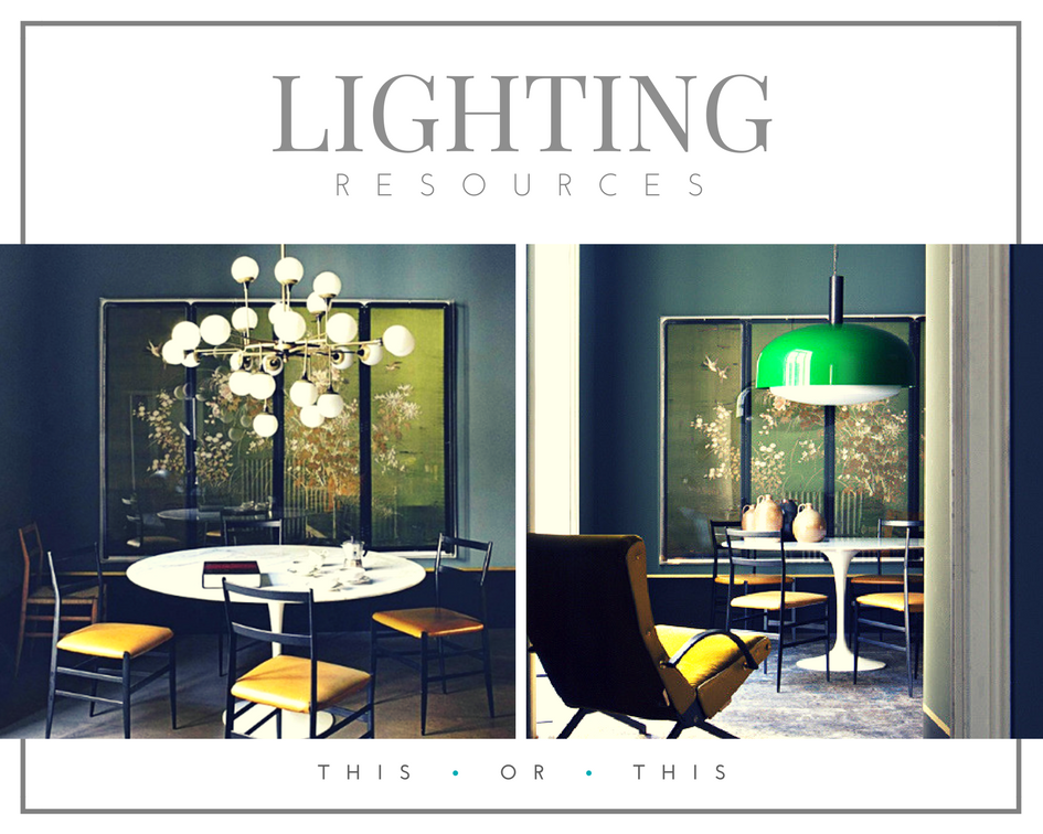 retail therapy lighting resources