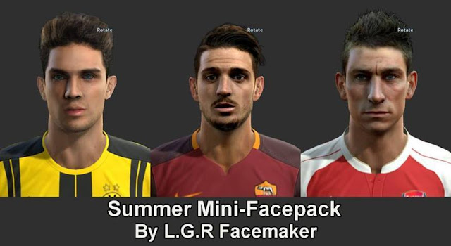 PES 2013 Summer Facepack