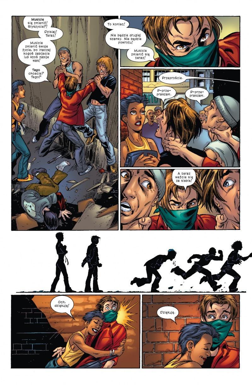 Ultimate Spider-Man tom 6 przykładowa strona