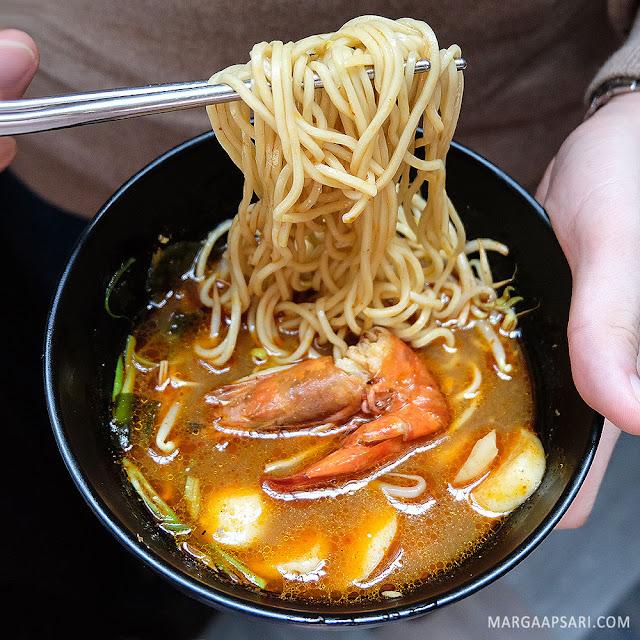 Spicy Miso Ramen Sekai Restaurant