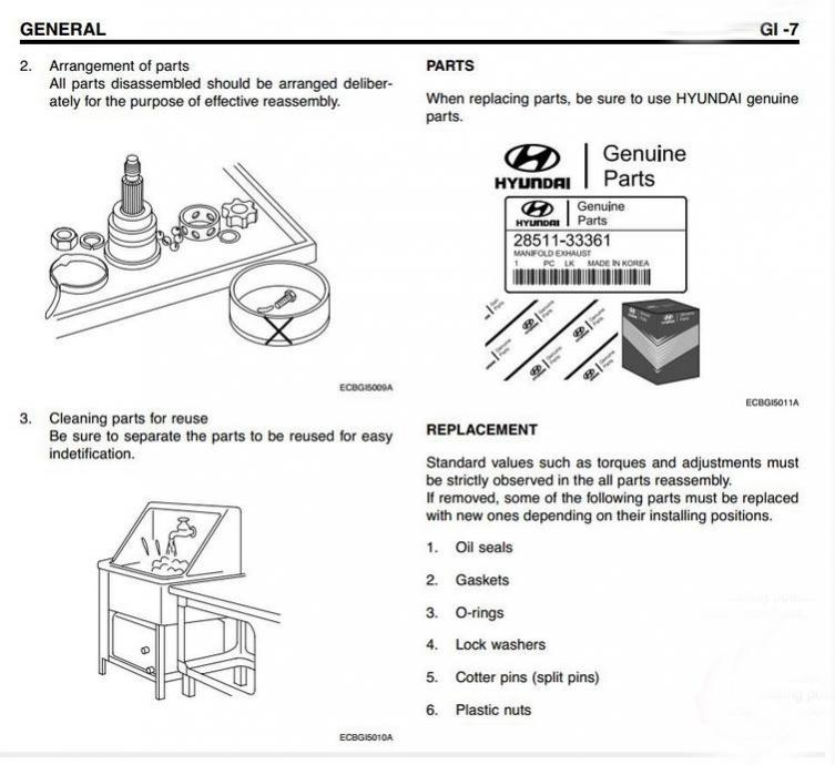 Hyundai Galloper workshop Manual