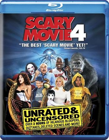 Scary Movie 4 (2006) BRRip 750Mb Dual Audio 720p Watch Online Full Movie Download bolly4u