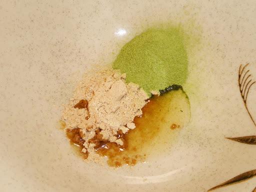 【味のマルタイ】青汁ラーメン《マルタイラーメンに青汁粉末を投入しました!》