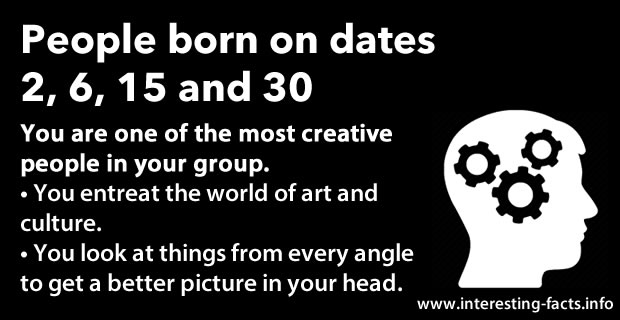 This Is What Your Birth-date Tells About You And Your ...