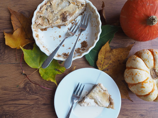 Apple Spiced Meringue Pie