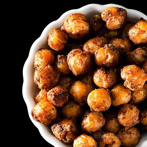 Spicy Roast Chickpeas