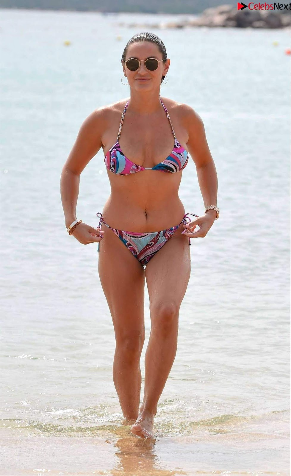 Sam Faiers sexy ass in bikini at the beach in sardinia 2018 09 13~CelebrityBooty.co Exclusive Celebrity Pics