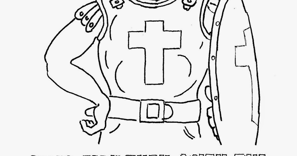 Coloring Pages for Kids by Mr. Adron: Breastplate of