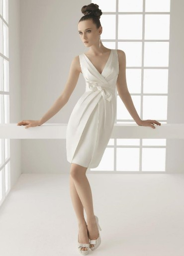 Vestidos de noivas curtos para quem quer inovar