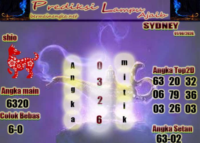 Kode syair Sydney Sabtu 1 Agustus 2020 254