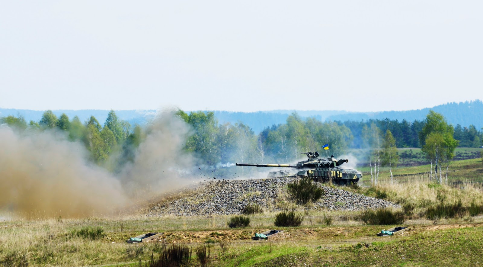 Ukrainian Military Pages - Strong Europe Tank Challenge 2017. Третій день: український взвод в обороні