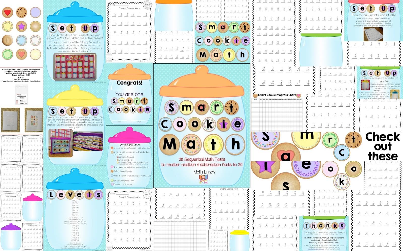 Smart Cookie Math - A Program to Master Basic Math Facts