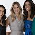 Vier vrouwen presenteren Eurovisiesongfestival 2018.