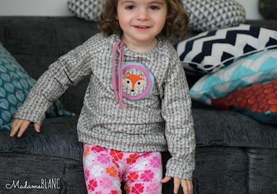 nähen für kinder leggings