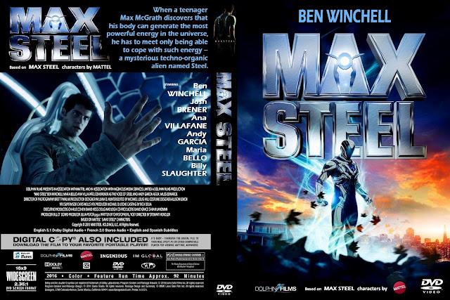 Capa DVD Max Steel