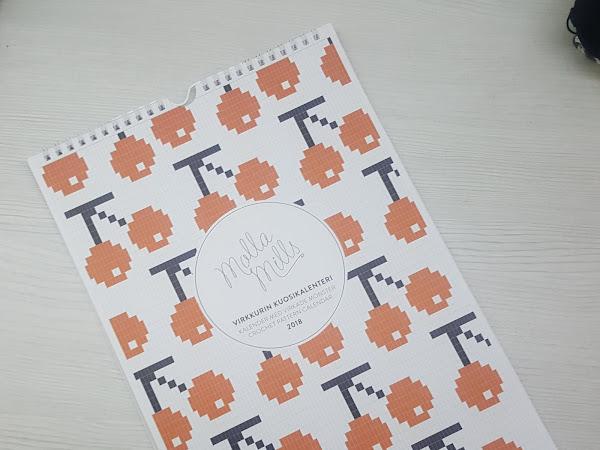 Virkkurin kuosikalenteri - tekemistä joka kuukaudelle!