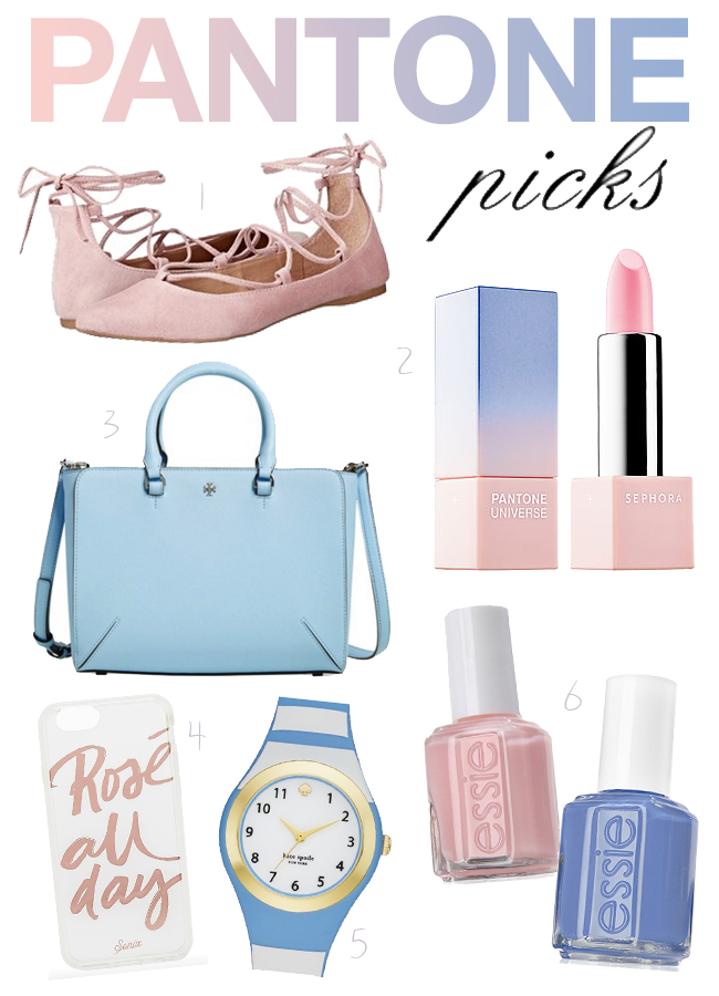 Pantone Color of the Year Rose Quartz & Serenity Top Picks from A Good Hue