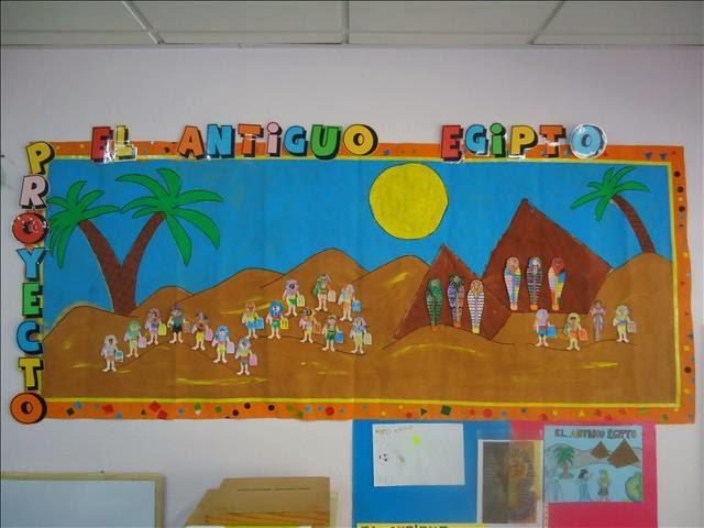 Peque basilio mural sobre egipto for Mural egipcio