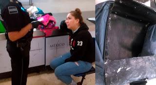 Detienen a mujer con más de 3 kilos de cocaína en Quintana Roo